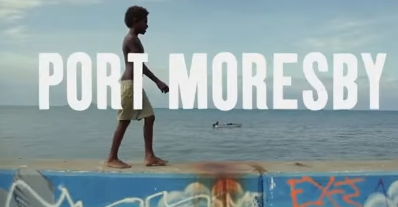 Port Moresby travel in video