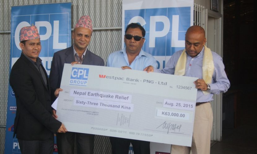 CPL donated to Nepal