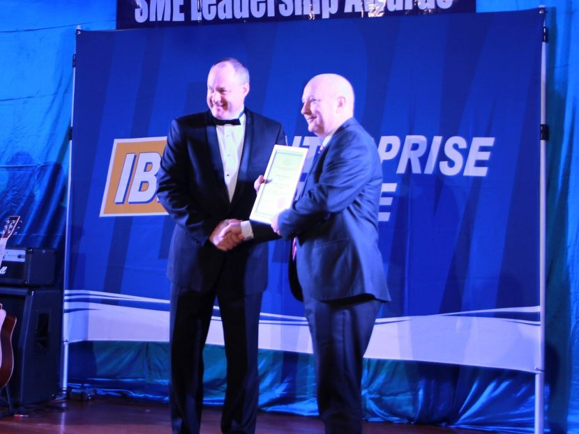 Westaway rewarded for distinguished services to Institute of Banking & Business Management