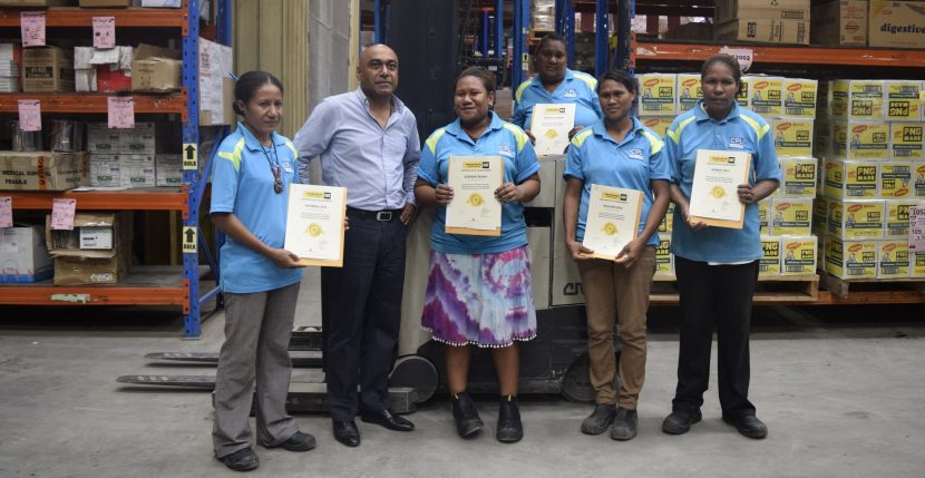CPL Recognizes First Female Forklift Drivers in the Company