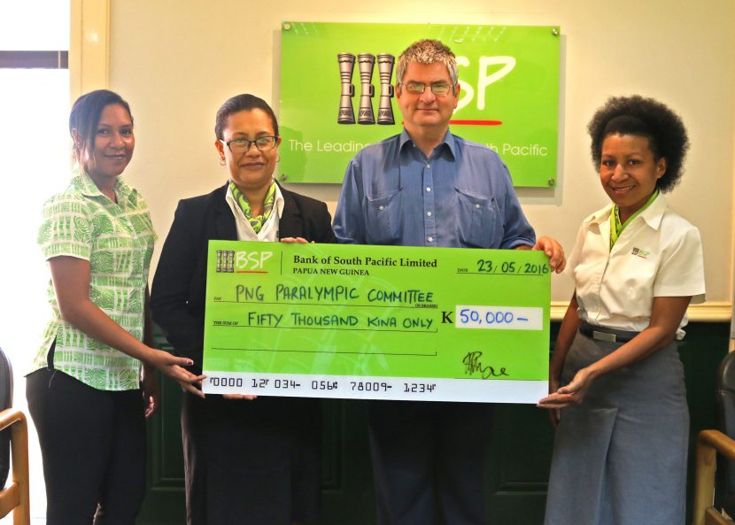 BSP continues to support PNG Paralympic Committee