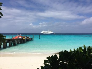 P&O passengers become first to step foot on Conflict Islands
