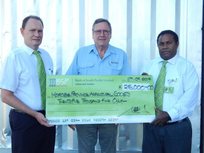 BSP Supports Morobe Agricultural Show