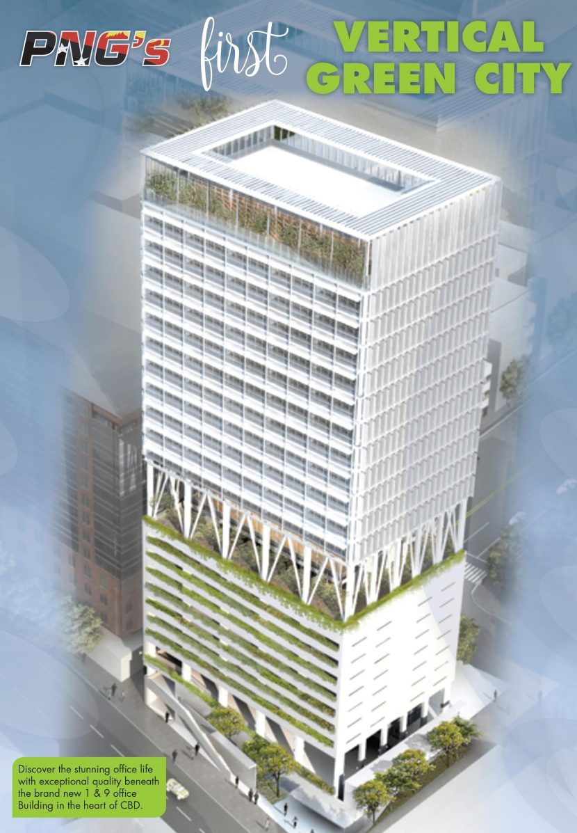 PNG's First Vertical Green City