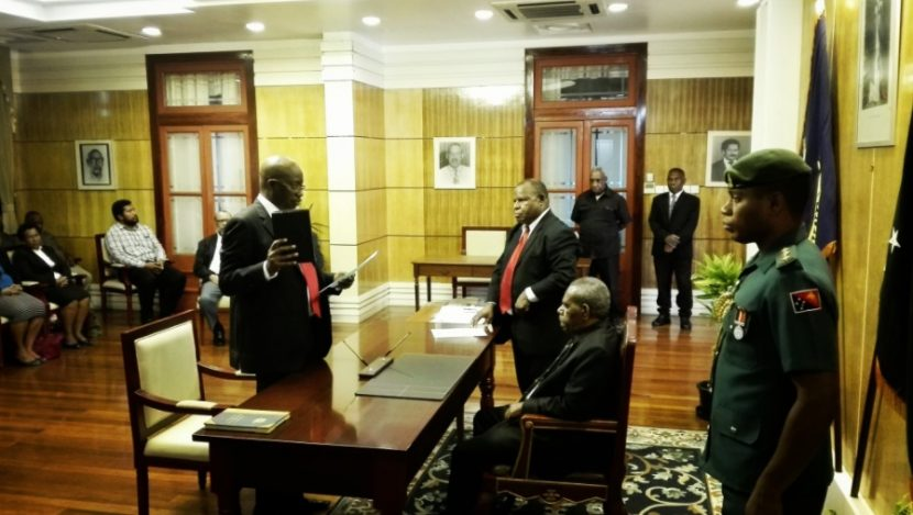 Judge from Botswana sworn in to PNG bench