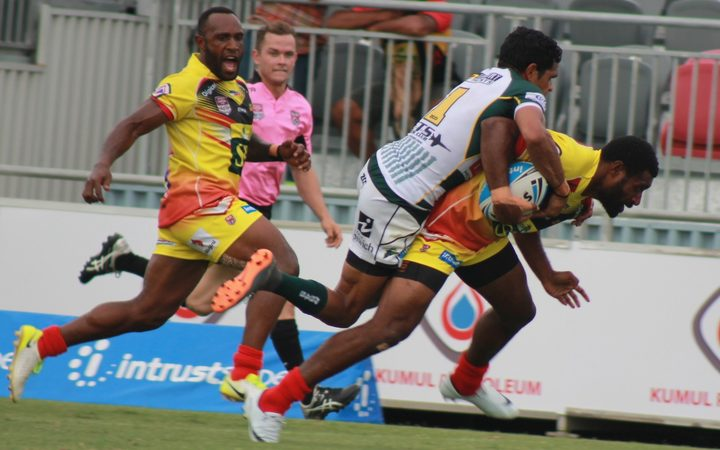 Sport: Hunters start title defence with victory