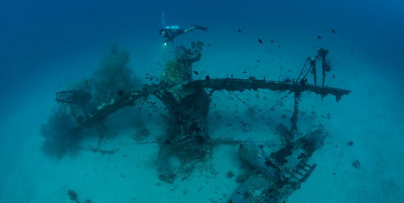 Diving the Aircraft Wrecks of Papua New Guinea