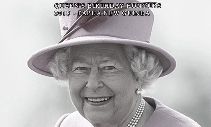 2018 Queens Birthday Honours List