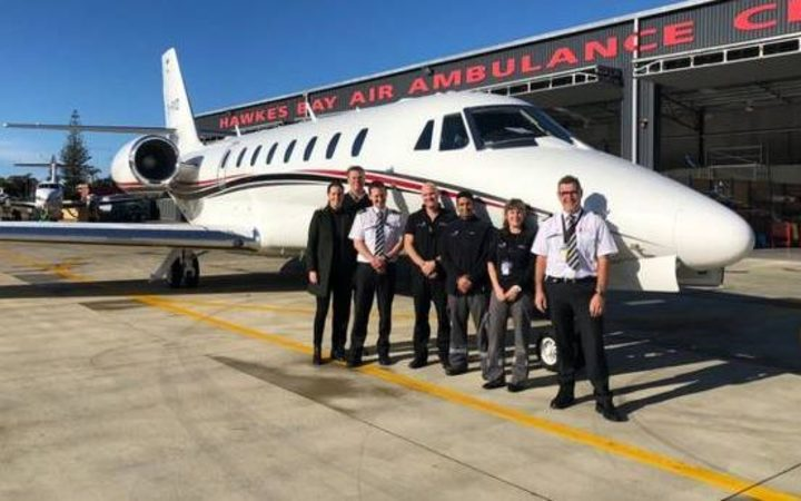 New jet aircraft for Pacific air ambulance