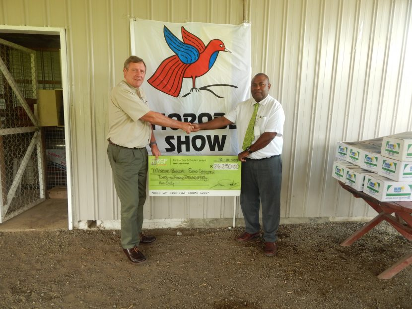 BSP Supports Morobe Show