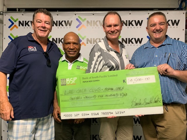BSP tees off support for Morobe Golf Open